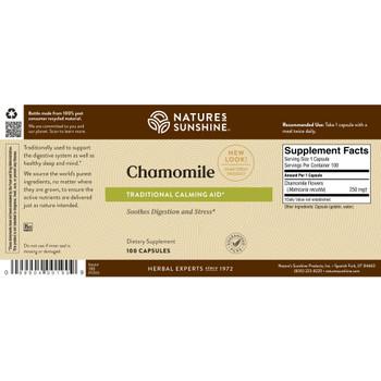 CHAMOMILE (100 caps)