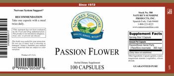 PASSION FLOWER (100 Caps) [KO]