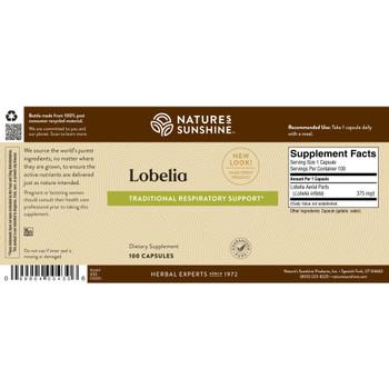 LOBELIA (100 caps) On B/O From NSP until: 5/7/21