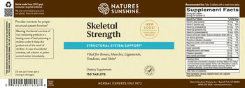SKELETAL STRENGTH® (150 Tabs)