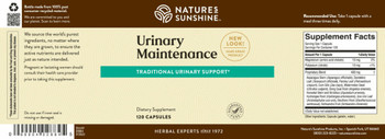 URINARY MAINTENANCE IMPROVED (120 Caps)