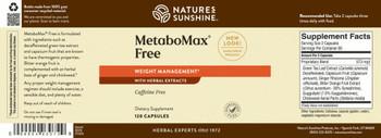 METABOMAX FREE (120 Caps) [KO]