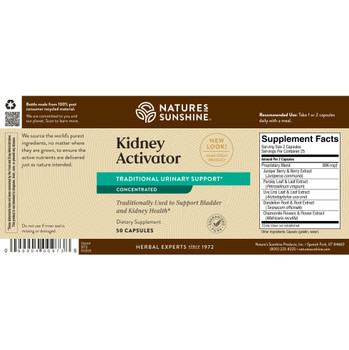 Kidney Activator ATC Concentrate(50 Caps) [KO]