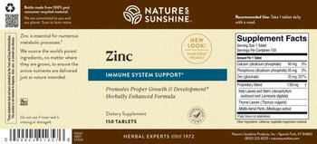 ZINC (25 mg) (150 Tabs) [KO]
