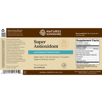SUPER ANTIOXIDANT (60 Caps)