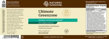 ULTIMATE GREENZONE (180 caps)