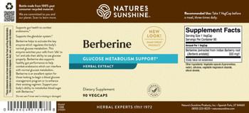 BERBERINE (90 Caps)