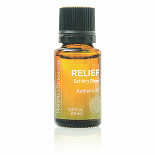 RELIEF SETTLING ESSENTIAL OIL BLEND (15 ml)