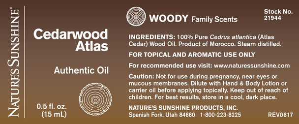 Cedarwood Atlas (15 ml)