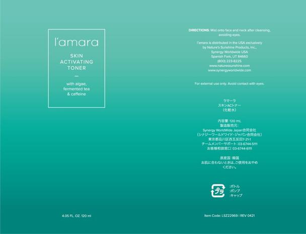 l'amara Skin Activating Toner