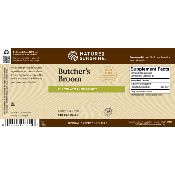 BUTCHER'S BROOM (100)