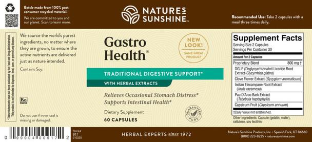GASTRO HEALTH CONCENTRATE (60 Caps) [KO]