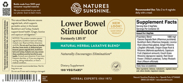 LBS II® (100 VegiTabs)