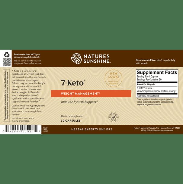 7-KETO™ (30 Caps)