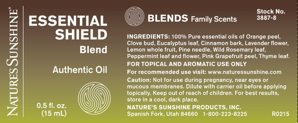 ESSENTIAL SHIELD OIL BLEND (15ml)