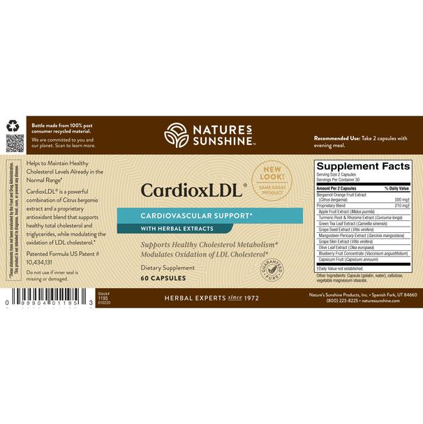 CardioxLDL® (60 Caps)