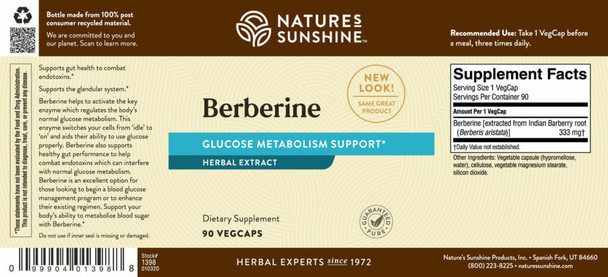 Berberine IR™ (90 Caps)