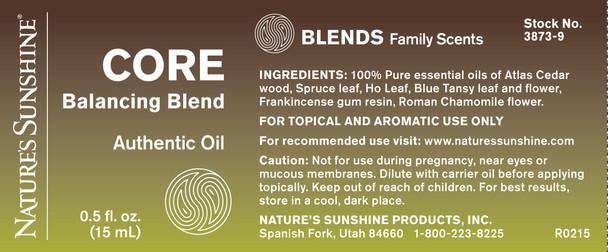 CORE BALANCING ESSENTIAL OIL BLEND (15 ml)
