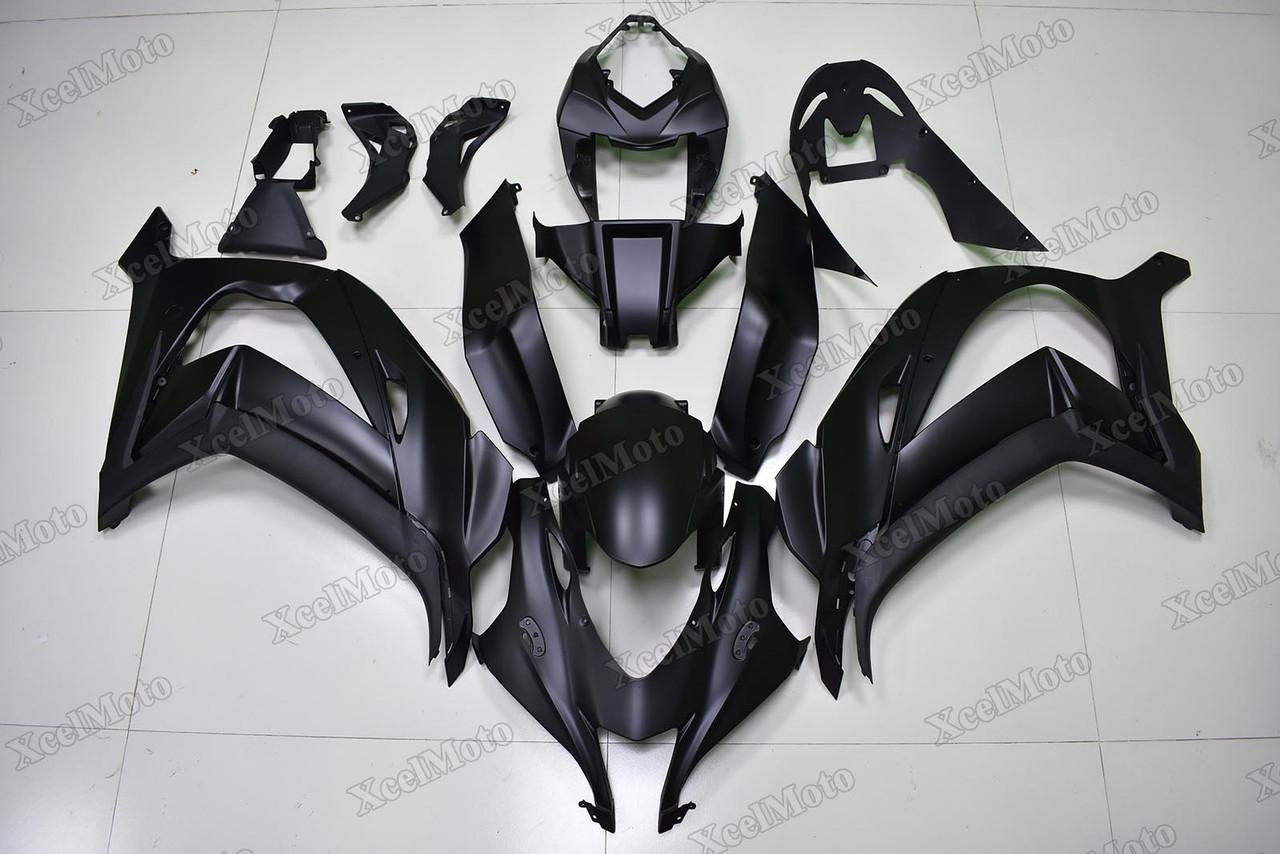 2016 To 2020 Kawasaki Ninja Zx 10r Matte Black Fairing Xcelmoto