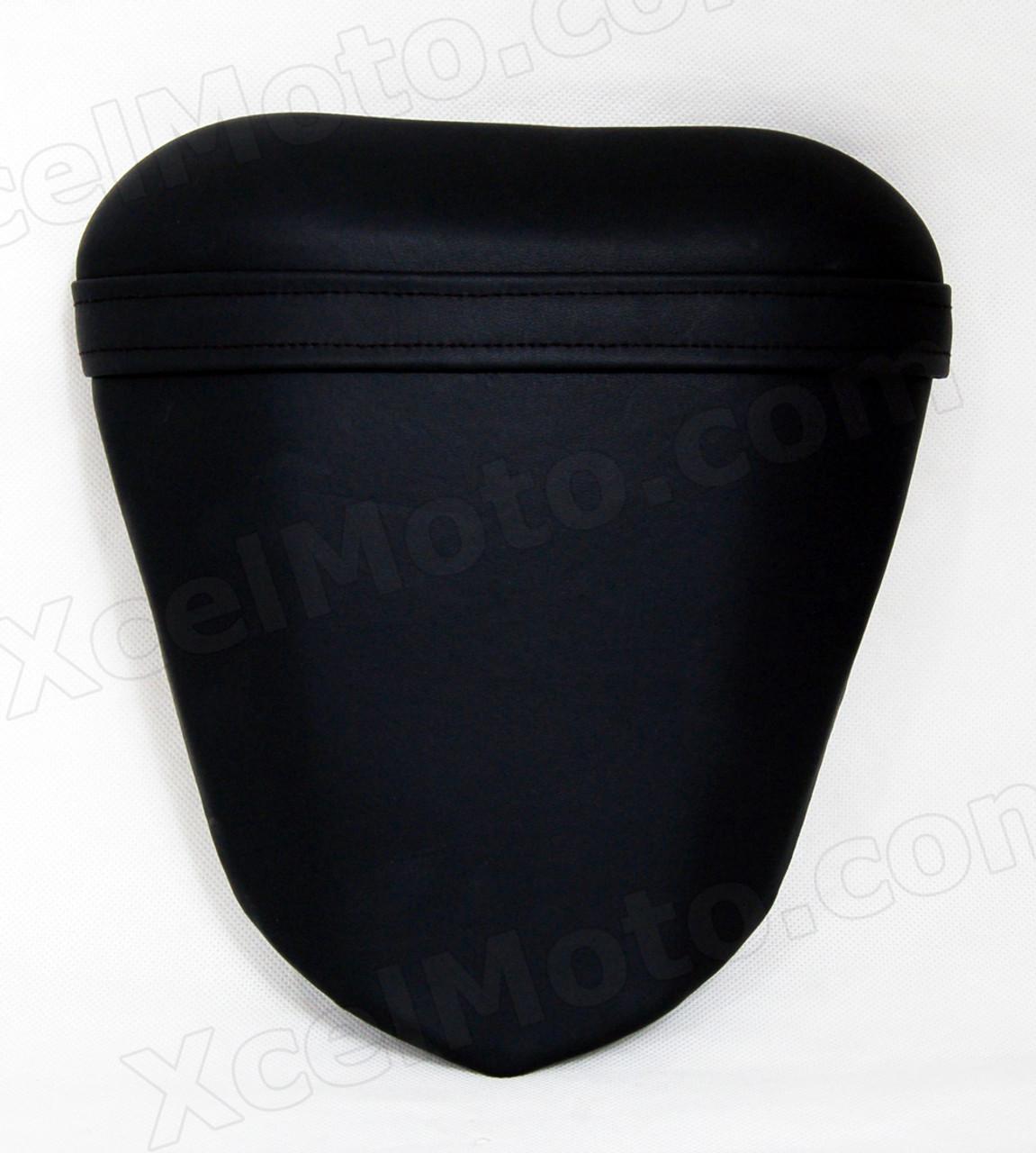 Rear Pillion Passenger Seat Leather Cushion For Yamaha YZF R6 2008-2014 Black