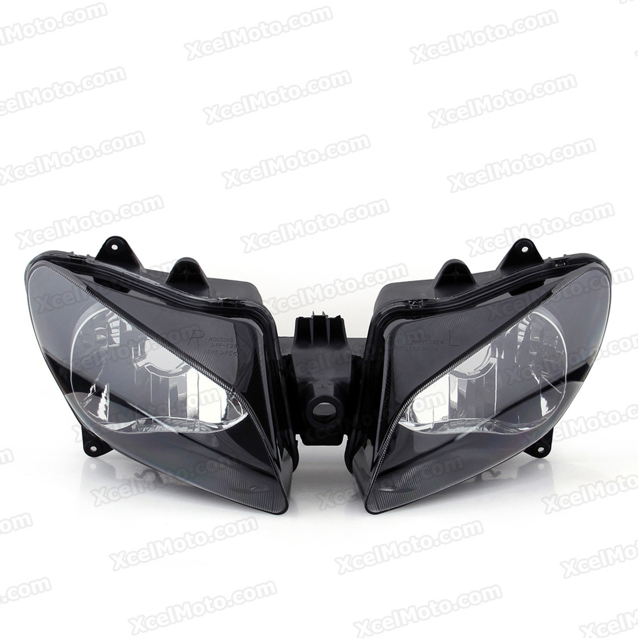 IN clear fit Yamaha yzf r1 yzf-r1 r1000 2009 2010 2011 headlight lamp assembly