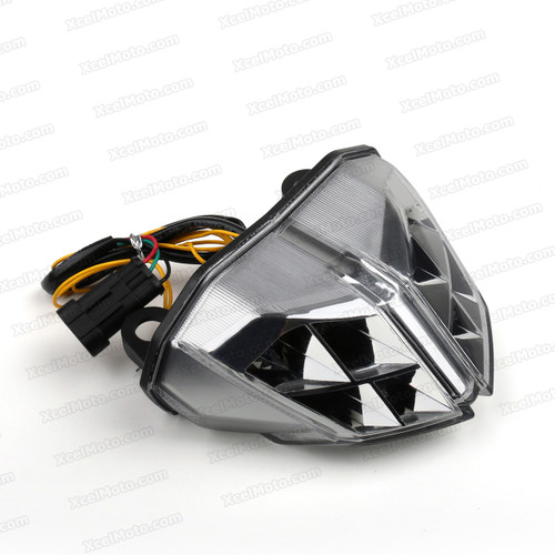 The LED turn signals integrated taillights assembly was compatible with Ducati 848 Streetfighter, this taillights combines tail lights and turn signals into one unit and are more functional.