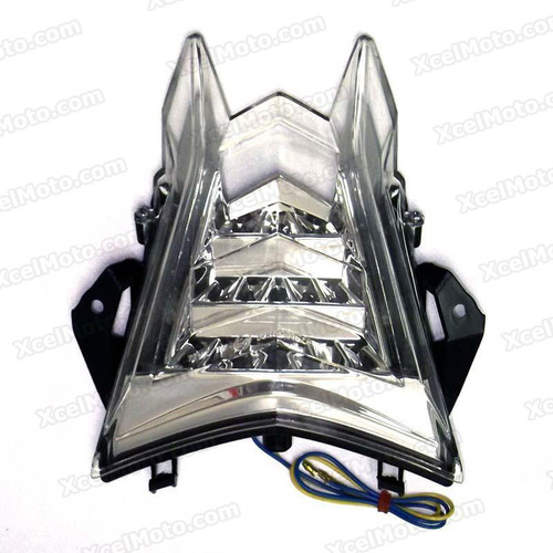 The LED turn signals integrated taillights assembly was compatible with 2009 to 2014 BMW S1000RR, this taillights combines tail lights and turn signals into one unit and are more functional.