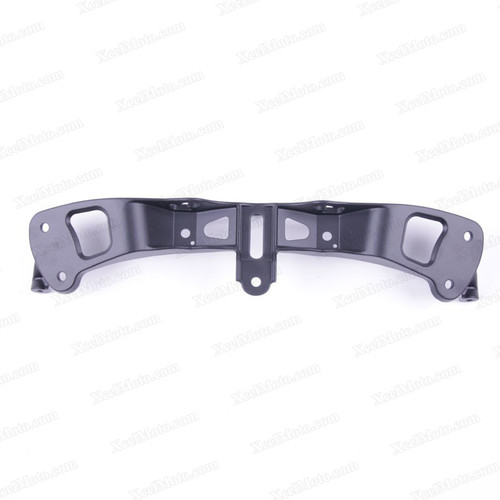 Motorcycle upper fairing stay bracket for 2005 to 2008 Kawasaki Ninja ZX-6R.