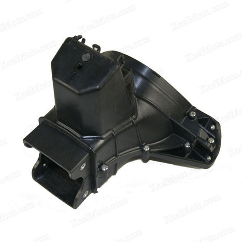 Motorcycle upper fairing stay bracket for 2009 to 2012 Kawasaki Ninja ZX-6R.