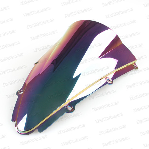 Windscreens for Yamaha R1 00-01. Racing Bubble Windscreen in Iridium.