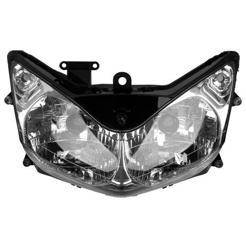 The motorcycle headlight/headlamp assembly kit for 2002 to 2010 Honda ST1300 is a direct O.E.M. replacement and made to O.E.M. specification to fit and look just like the original.