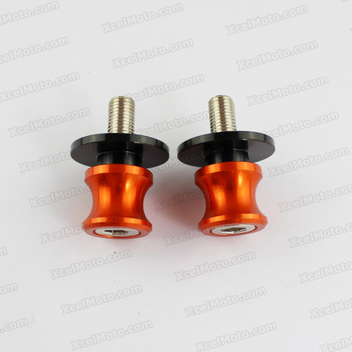 Motorcycle Swingarm Spools, motorcycle swingarm bobbins, Aluminium Made With 6mm, 8mm, 10mm thread options.
