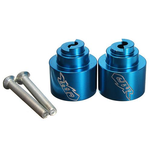 Bar end plugs for motorcycle Honda CBR600, CBR600RR, CBR954, CBR1000RR.