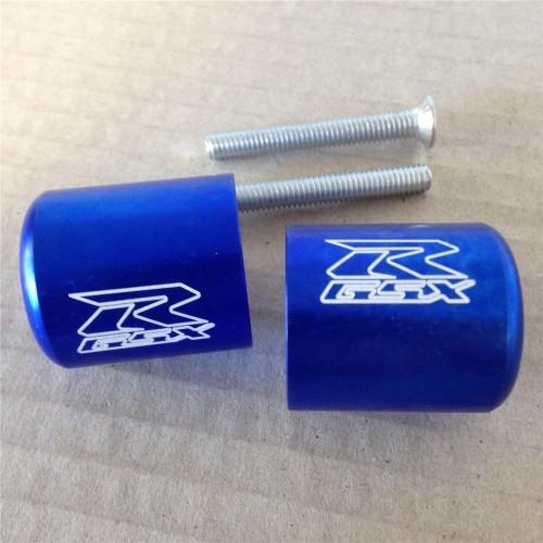 Bar end plugs for motorcycle Suzuki GSXR600/750, GSXR1000 and GSXR1300 Hayabusa.
