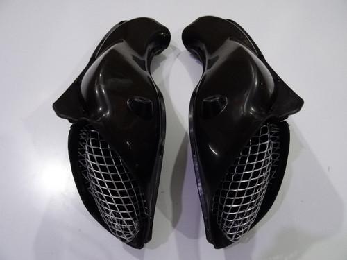 2001 2002 2003 Suzuki GSXR600 ram air ducts, 2001 2002 2003 Suzuki GSXR600 air intake tubes.