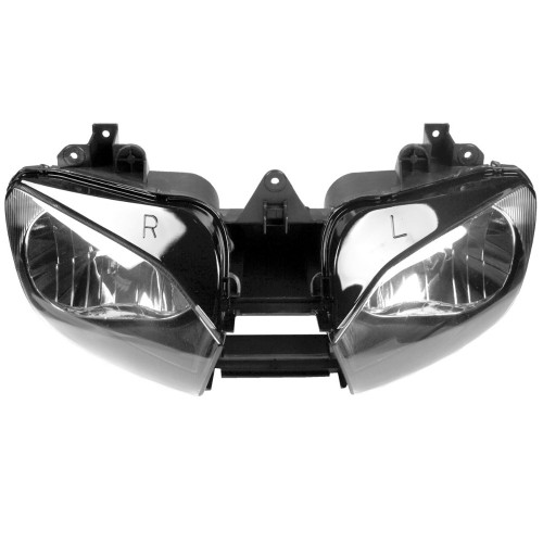 Motorcycle headlight/headlamp assembly kit for 1999 to 2002 Yamaha YZF-R6.