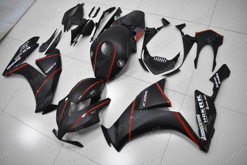 2012 2013 2014 2015 2016 Honda CBR1000RR FireBlade matte black fairing