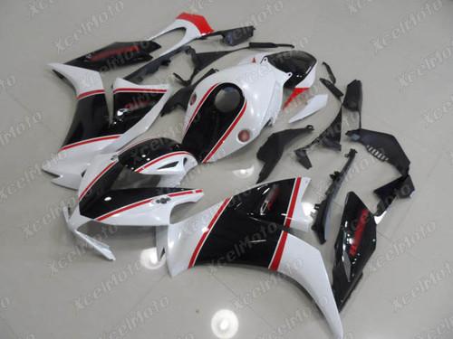 2012 2013 2014 2015 2016 Honda CBR1000RR white and black fairing.