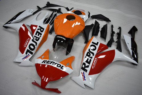 2012 2013 2014 2015 2016 Honda CBR1000RR Fireblade Repsol custom scheme fairings and body kits, Honda CBR1000RR Fireblade OEM replacement fairings and bodywork.