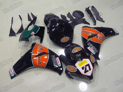 2008 2009 2010 2011 Honda CBR1000RR Fireblade HM plant fairings and body kits, Honda CBR1000RR Fireblade OEM replacement fairings and bodywork.