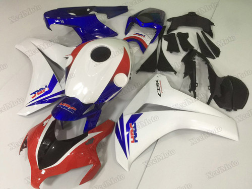 2008 2009 2010 2011 Honda CBR1000RR Fireblade HRC fairings and body kits, Honda CBR1000RR Fireblade OEM replacement fairings and bodywork.