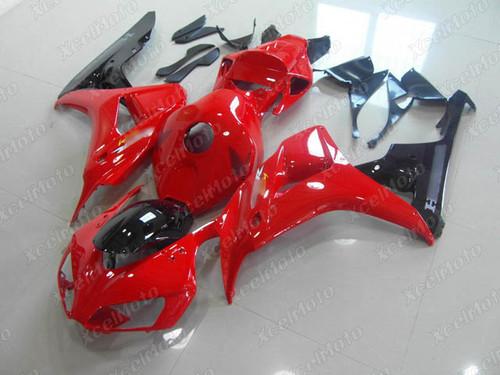 2006 2007 Honda CBR1000RR Fireblade red and black fairings