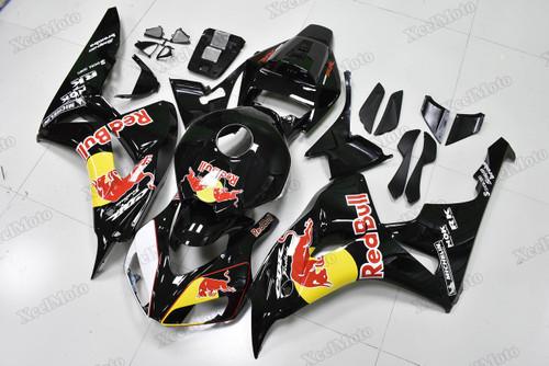 2006 2007 Honda CBR1000RR Fireblade RedBull fairings and body kits, Honda CBR1000RR Fireblade OEM replacement fairings and bodywork.