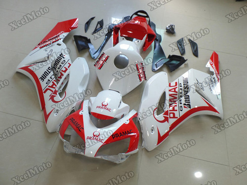 2004 2005 Honda CBR1000RR Fireblade pramac fairings and body kits, Honda CBR1000RR Fireblade OEM replacement fairings and bodywork.