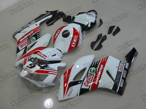 2004 2005 Honda CBR1000RR Fireblade Castrol fairings and body kits, Honda CBR1000RR Fireblade OEM replacement fairings and bodywork.