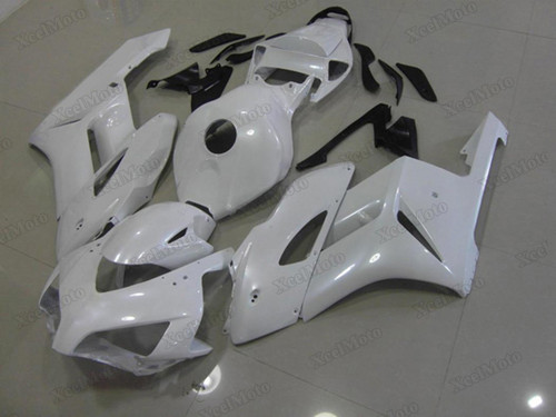 2004 2005 Honda CBR1000RR Pearl White fairings