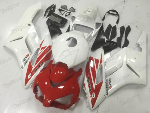 2004 2005 Honda CBR1000RR Red/White replacement fairings