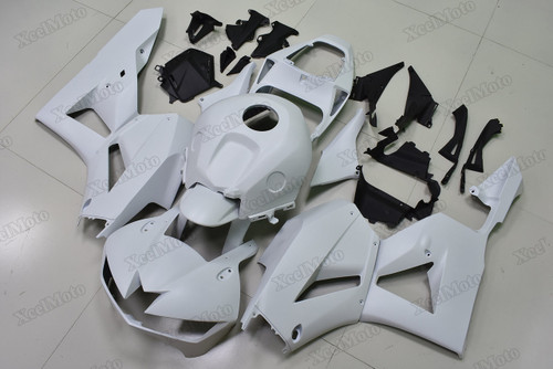 2013 2014 2015 2016 2017 2018 2019 Honda CBR600RR matte white fairings and bodywork.