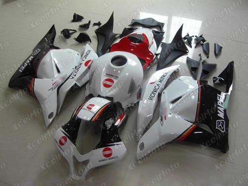 2009 2010 2011 2012 Honda CBR600RR Konica Minolta fairing.