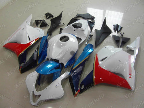 2009 2010 2011 2012 Honda CBR600RR blue red and white fairing